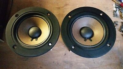 Pair of Pioneer HPM-60 Midrange speakers 10-719a in excellent working condition
