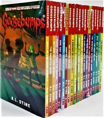 GooseBumps Classic Collection 20 Books Set ,The Ghost Next Door,R L STINE