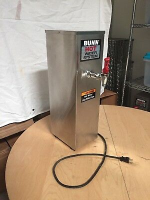 Bunn HW2-0001 HW2 Hot Water Dispenser, 2 Gallon, S/S Finish