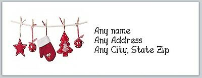 Personalized Address Labels Christmas Buy 3 get 1 free (ac 272)