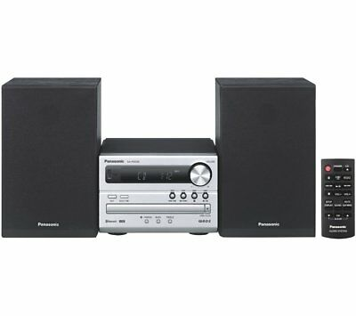 Panasonic SC-PM250EB-S CD,Bluetooth,FM Tuner,Wireless Traditional Hi-Fi System