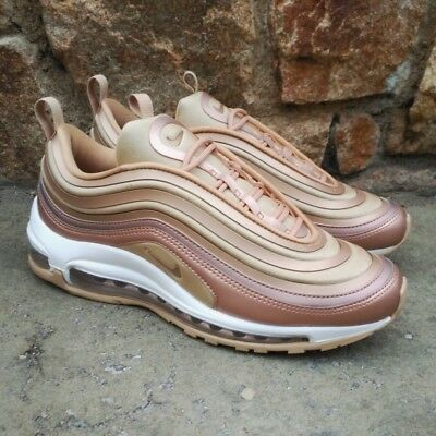 competitive price d2597 81358 nike air max 97 rosa gold
