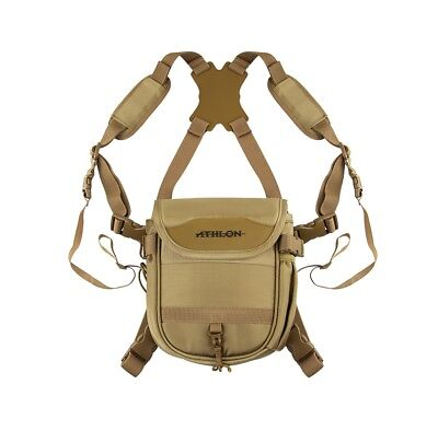 Athlon Optics Binocular Harness (Desert Tan) 706011 Hunting Birding