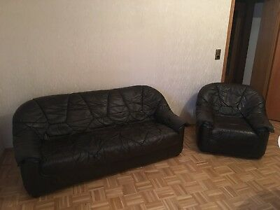 ecksofa braun ohne bettfunktion eur 1 50 picclick de. Black Bedroom Furniture Sets. Home Design Ideas