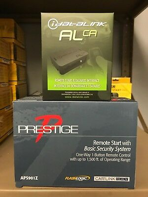 Prestige APS57Z 1-Way Remote Start Keyless Entry /& 556UW Bypass Bundle Brand NEW