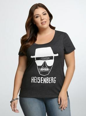486bd916 Torrid BREAKING BAD HEISENBERG SKETCH Women's Plus Size T-Shirt NWT Licensed
