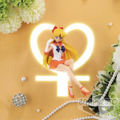 NEW Sailor Moon Sailor Venus Break Time Figure 12cm BANP37701 US Seller