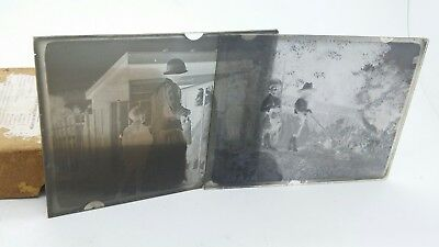 17 x Ilford Old Photographic Panchromatic Backed Glass Plates collectable!!!