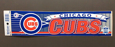 CHICAGO CUBS MLB Baseball Sticker Wincraft Sports Vintage NEW OFFICIAL RARE