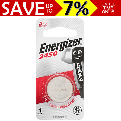 PROMO Genuine Energizer E-CR2450 lithium button battery 3V zero mercury CR2450