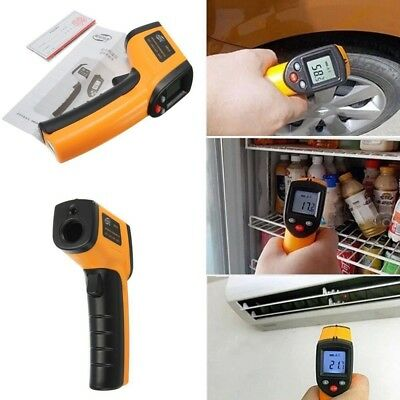 Non-Contact LCD IR Laser Infrared Digital Temperature Meter Thermometer DG