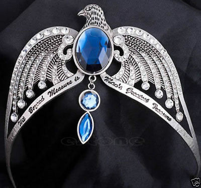 New Ravenclaw Lost Diadem Tiara Crystal Crown Horcrux Harry Potter Cosplay Props