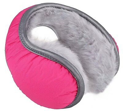 Ear Muffs Winter Ear Warmers Fleece Earwarmer Men's Women's Behind the Head Band