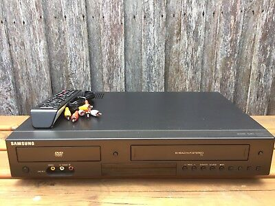 Serviced Samsung DVD-V6800 Combo VCR DVD player Video Recorder + Remote + RCA B