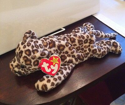 Freckles the Leopard Beanie Baby Retired 1996