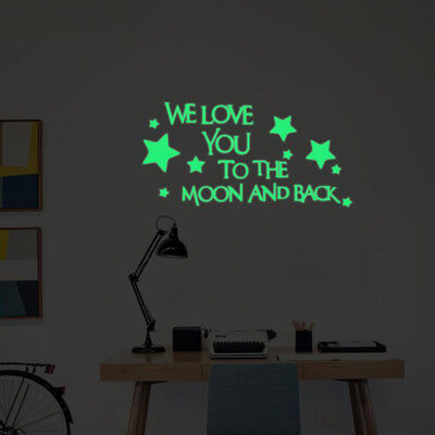 Practical 3D Star Glow In The Dark Luminous Wall Stickers Art Decal Home Décor