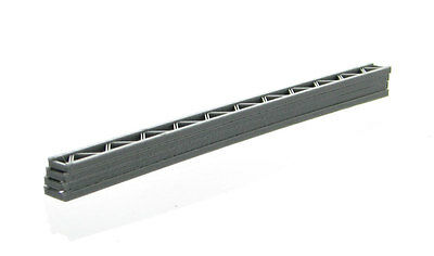 Construction Girders - 4 pack grey - approximately 24 ft. long in 1/50 scale