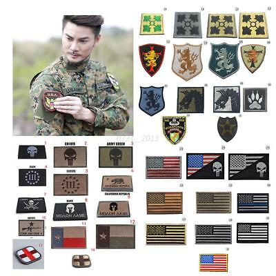 3D Military Tactical Army Embroidery Morale Sew Patch Vogue Badge Armband Patch