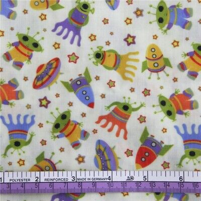 FABRIC UMIZOOMI KIDS TV SHOW PRINT POLYCOTTON BLEND 50 X 145 CM//20 X 58 IN
