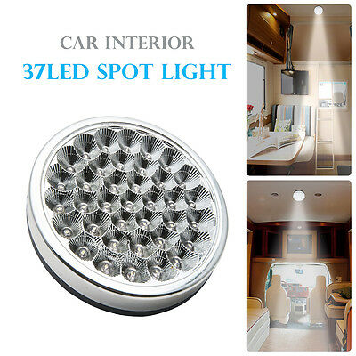12V 37 LED Interior Ceiling Cabin Spot Light For Caravan Motorhome Camper Boat