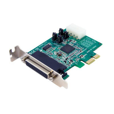 StarTech.com 4 Port Low Profile Native RS232 PCI Express Serial Card with 16950