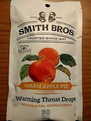 Smith Brothers Cough Drops 30 count - 6 Flavors Available