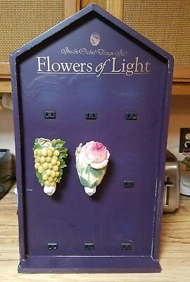 9 NightLight Countertop Display Retail Fixture Electrical. Flowers of Light