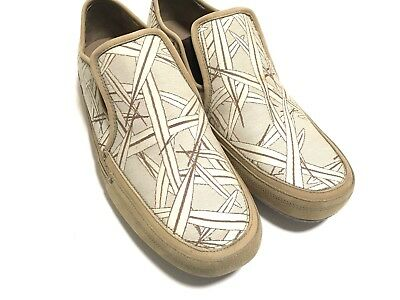 Cole Haan slip on Mens Mossy Light Brown moccasin shoes size 11M