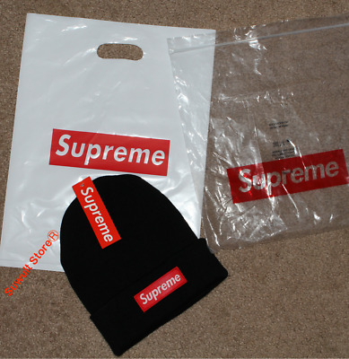 Supreme winter hat beanie hat cap in black for man women FREE 2 DAYS SHIPPING