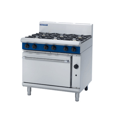 Blue Seal GE56D/C/B/A 900mm Gas Range - Electric Convection Oven