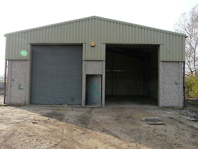 Steel framed concrete Industrial building, Farm building, Workshop, Out building