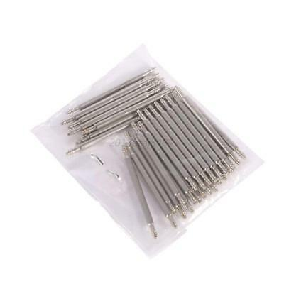 Watch Band Strap Link Pin Spring Bars Stainless Steel 12/14/16/18/20/22/24/26mm