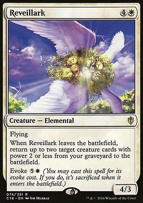 1x REVEILLARK - Rare - Commander - MTG - NM - Magic The Gathering
