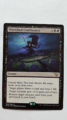 1x WRETCHED CONFLUENCE - Rare - Commander - MTG - NM - Magic the Gathering