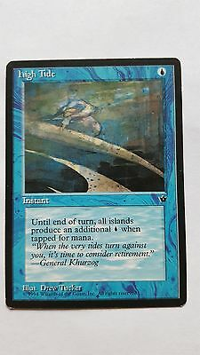 1x HIGH TIDE - Rare - Fallen Empires - MTG - NM - Magic the Gathering