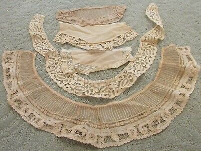 Victorian,antique,vintage Miscellaneous  Lace Pieces Lot A