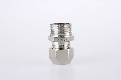 1/4BSP Male Thread 10mm Tube Dia Straight Pneumatic Quick Coupler