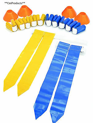 SKLZ 10 Man Flag Football Deluxe Set Flags and Cones Kids & Adults U.K Stockist