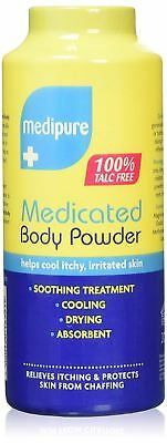 Medipure Medicated Body Powder 100% Talc Free 200g