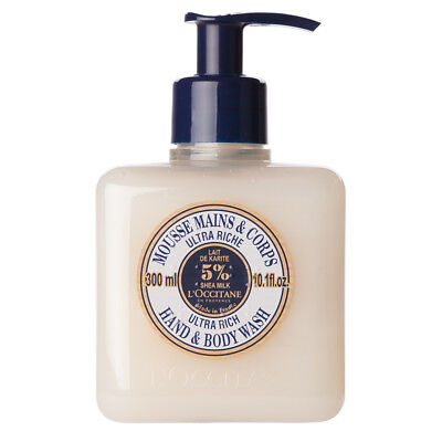 NEW L'Occitane Ultra Rich Hand & Body Wash 300ml