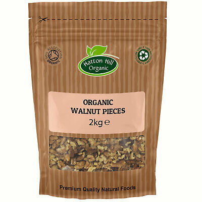 Organic Walnuts Large Pieces / Broken 2kg Certified Organic