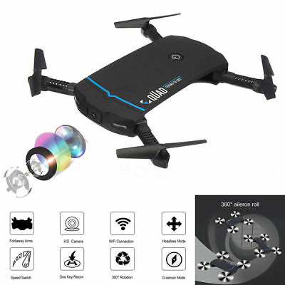 Drone x pro 2.4G Selfi WIFI FPV With 720P HD Camera Foldable RC Quadcopter Gift