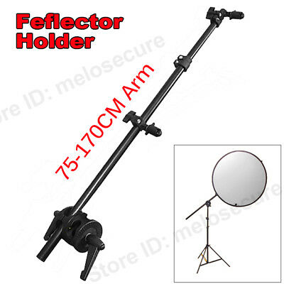 Photography Reflector Arm Bracket 75-170cm Mount Disc Grip Holder Holding boom