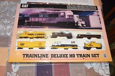 Walthers Train Line Deluxe Ho Caterpillar Tractor Train Set Limited Edition