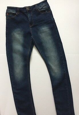 Next Dark Blue Stretch Jeans Age 12 Years Boys