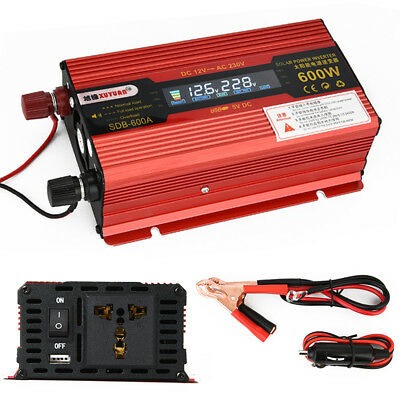 Car Power Inverter Converter Charger Adapter Modified Sine Wave 500W/1200W/1500W