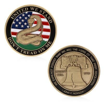 United We Stand Commemorative Challenge Coin Collectible Collection Craft Gift