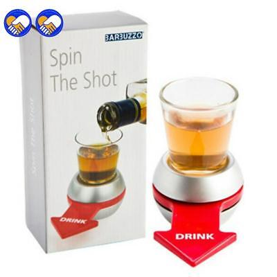UR TURN Spin Drinking Spin The Shot Drinking Game Shot Glass Drinking Game Fun