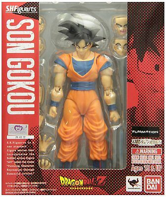 NEW S.H.Figuarts Dragon Ball Z SON GOKOU Action Figure BANDAI TAMASHII NATIONS