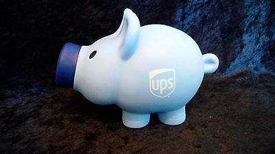 Blue UPS Pig Piggy Bank